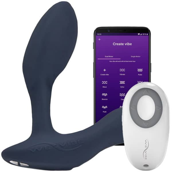 21705 we vibe vector prostata massager med fjernbetjening og app 01 app q100