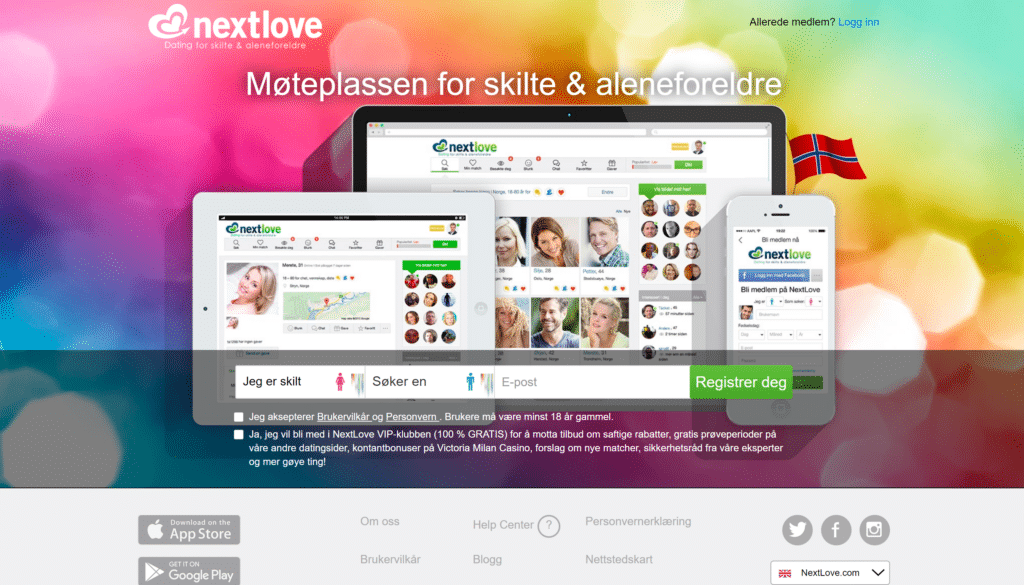 Nextlove nettside