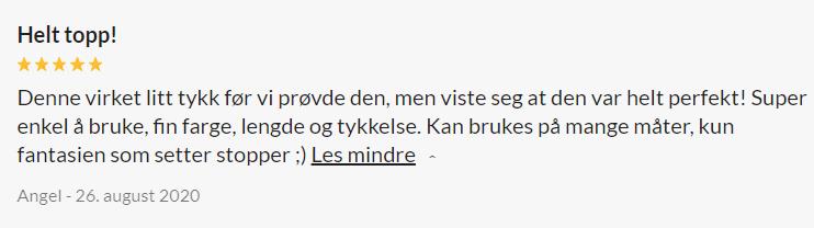 Baseks Realistisk Dobbeldildo Large