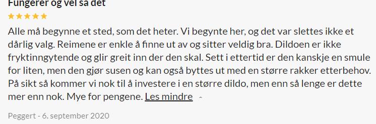 Obaie Unisex Strap-on Seletøy med Dildo