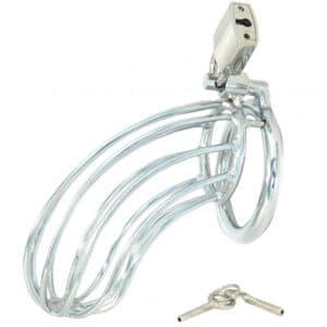 Metallkyskhetsbelte med Lås