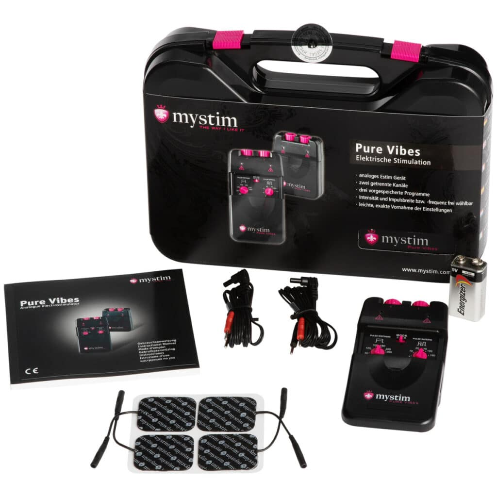 Mystim Pure Vibes Analog Elektrosex-apparat