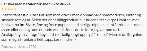 Anna Swedish Lovedoll Sexdukke