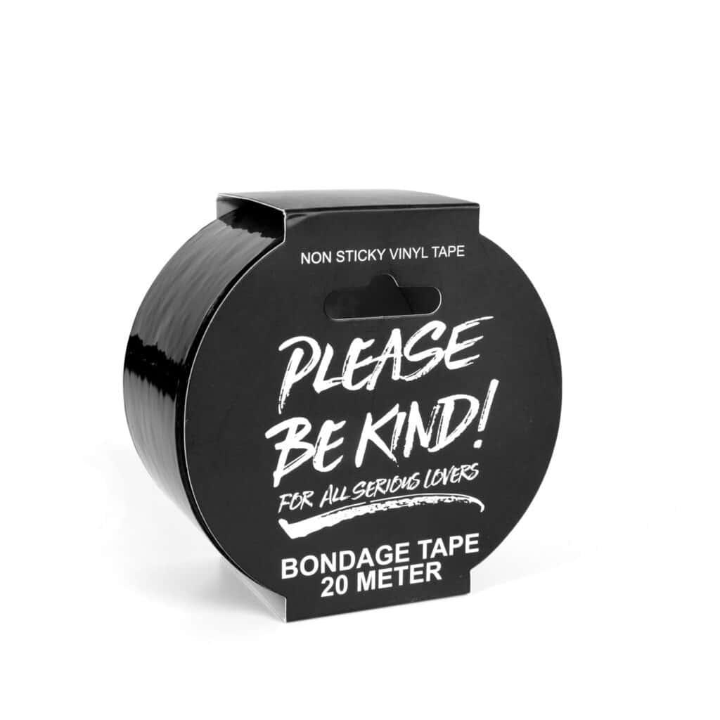 BLACK BONDAGE TAPE - 20 M