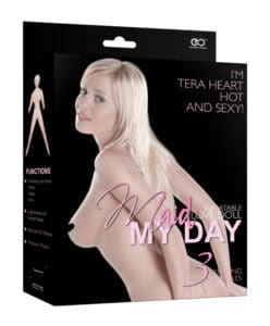 Maid My Day Inflatable Love Doll - Tera Heart