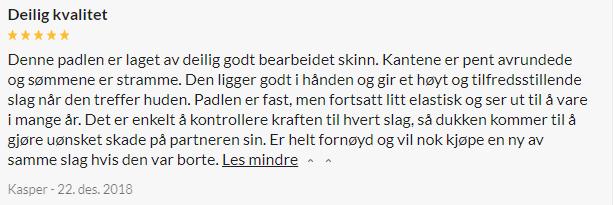 Spartacus Frat Læder Paddle Original