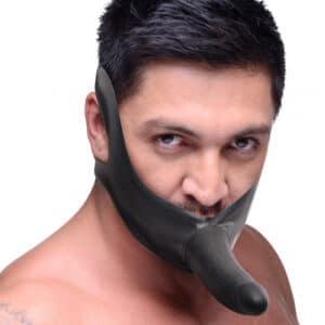 Master Series Face Fuk 1Strap-on Gag